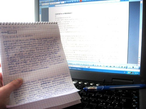 article writing photo