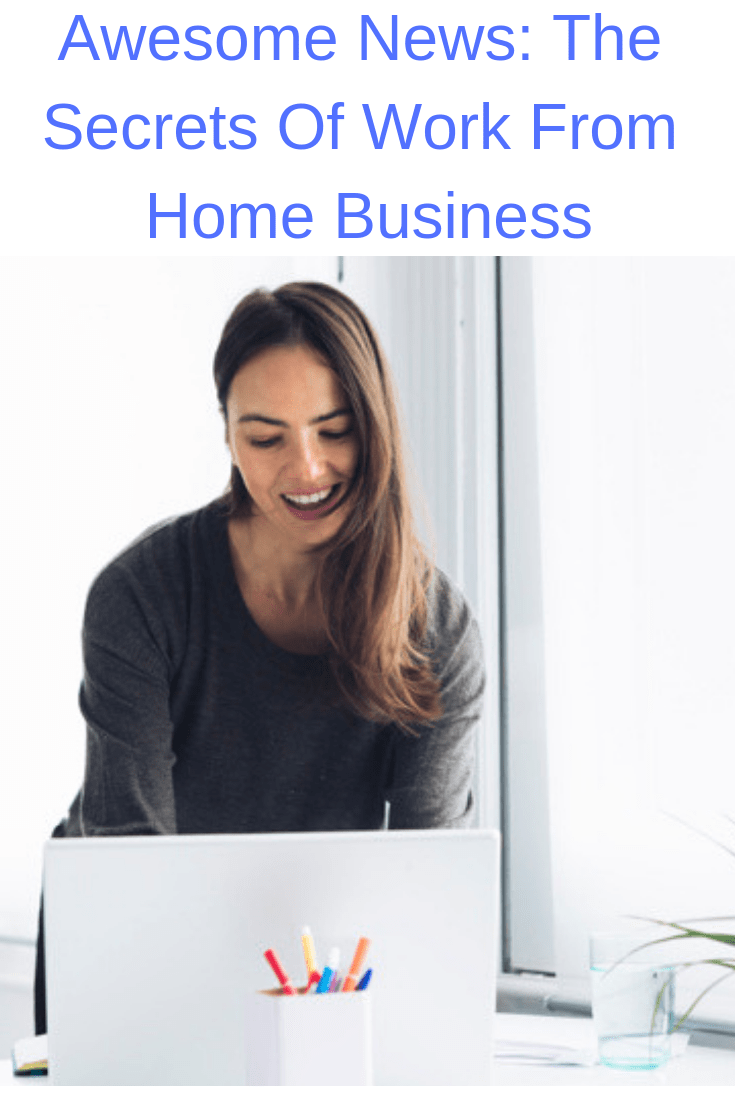Happy New Year!! - Awesome News: The Secrets Of Successful Work From Home Business