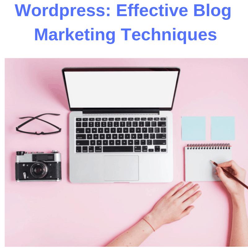 Wordpress: Effective Blog Marketing Techniques
