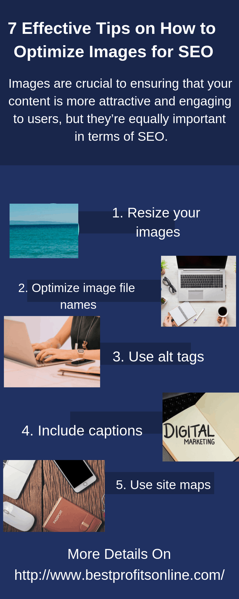 7 Effective Tips on How to Optimize Images for SEO [Infographic]