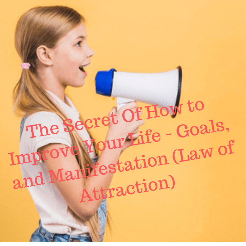 The Secret Of How to Improve Your Life: Goals and Manifestation (Law of Attraction)