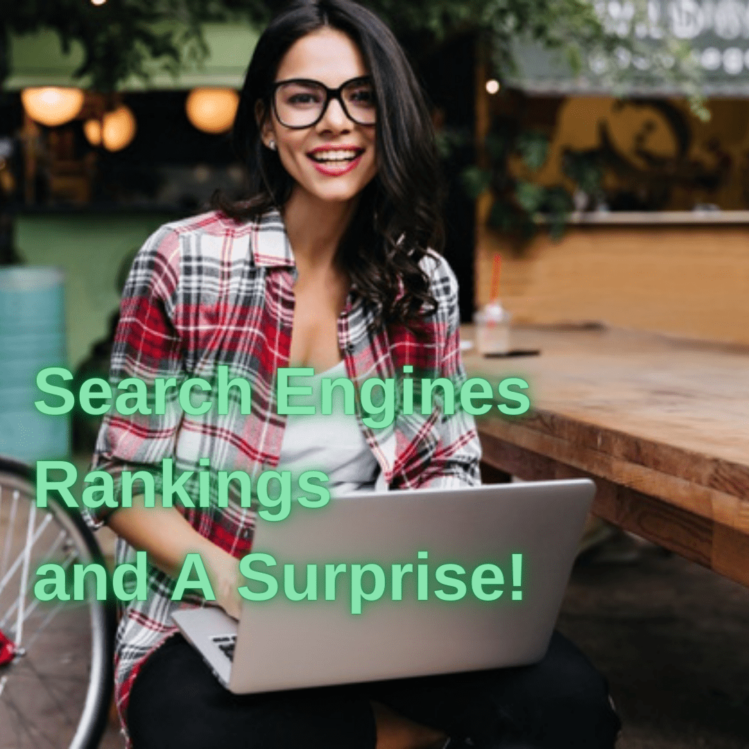 Search Engines: Tips to Improve Your Rankings and A Surprise!