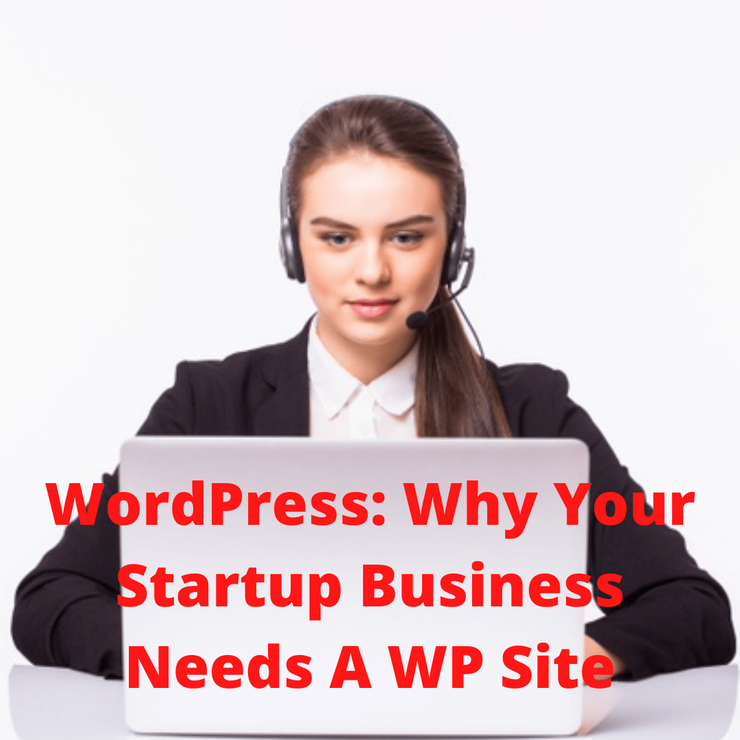 WordPress: 8 Reasons Why Your Startup Business Needs A WP Site